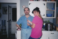 Manzino Sue Gorey at Lori's July 2000