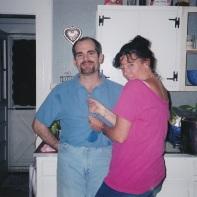Manzino Sue Gorey at Lori's July 2000