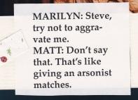 Manzino Two Rooms Arsonist 1996