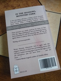 The back cover of the final proof.