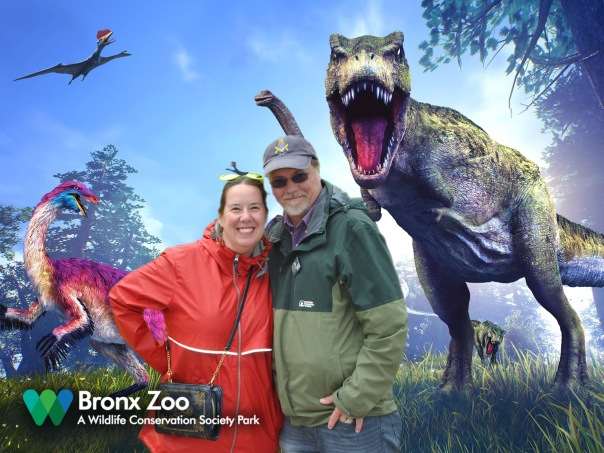 Dinosaur Safari Green Screen Pic