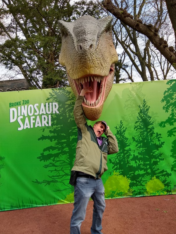 Dinosaur Safari photo opp