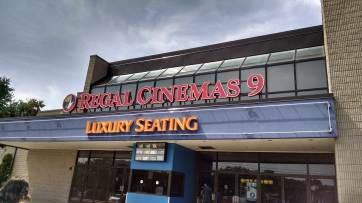 Regal Cinemas 9 Marquee