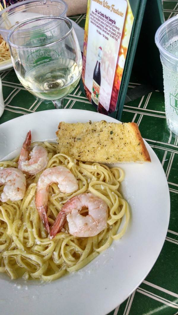 Very delicious Shrimp Scampi