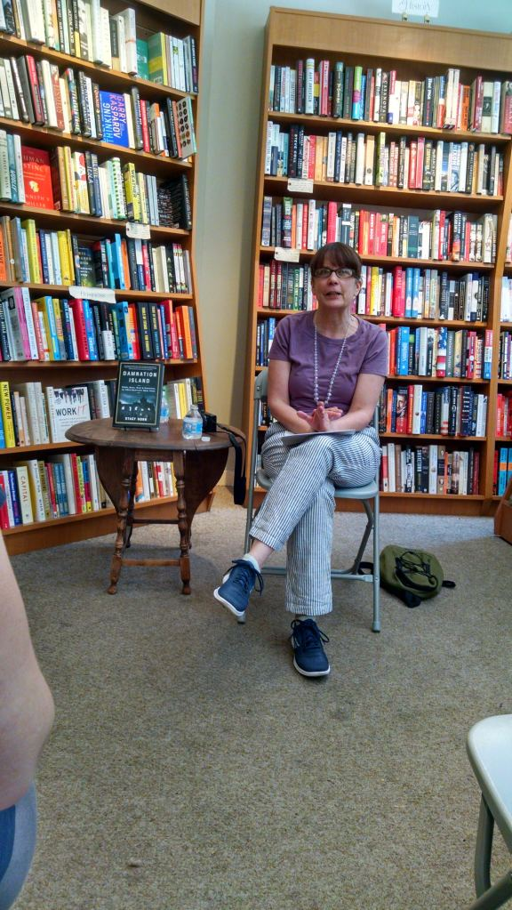 Stacy Horn at Astoria Bookshop