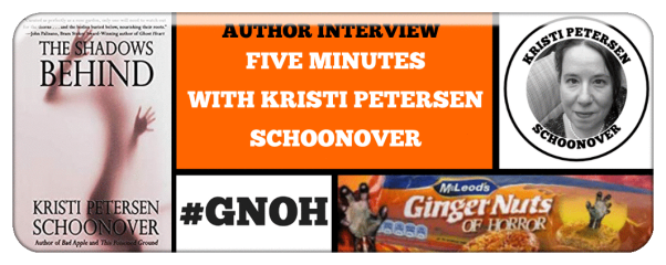 Ginger Nuts of Horror Five Minutes With Custom Logo