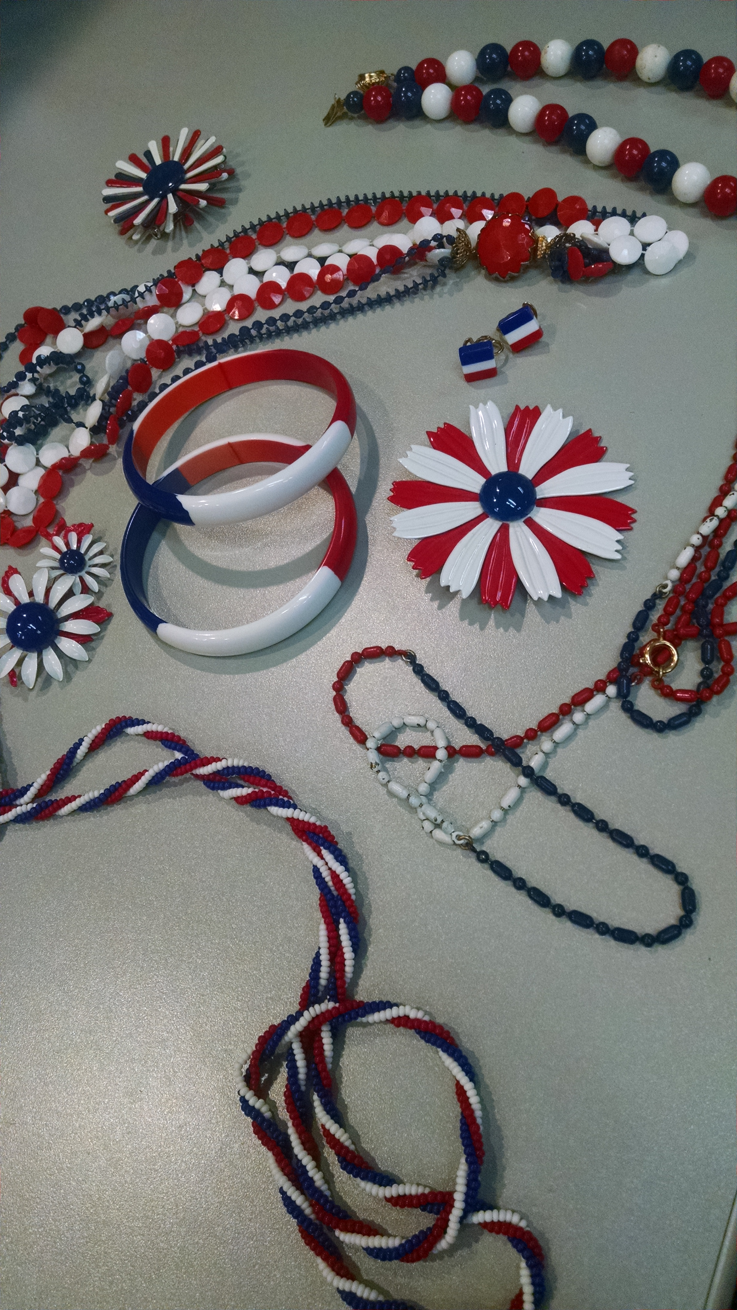Vintage 4th of July jewelry