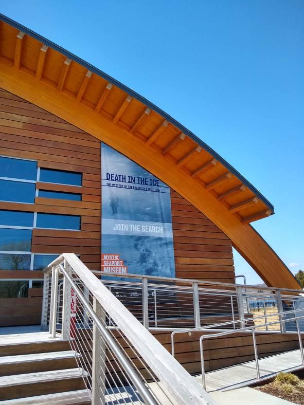Mystic Seaport Museum Main Entrance