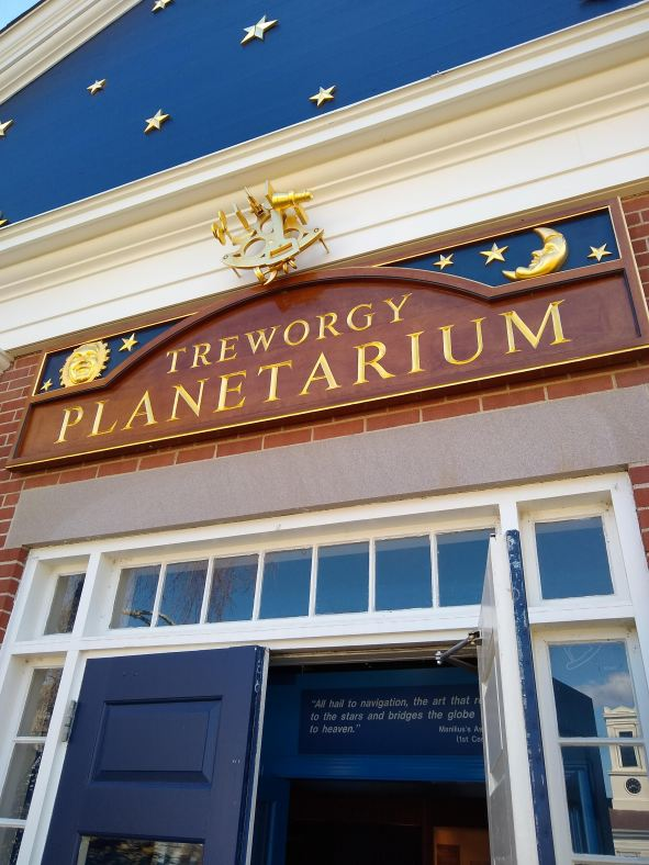Treworgy Planetarium at Mystic Seaport
