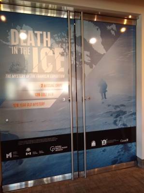 Exhibit doors for DEATH IN THE ICE