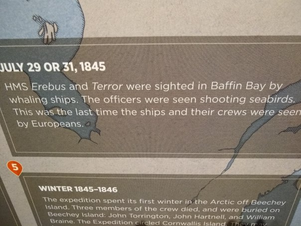 Franklin Expedition at Mystic 17