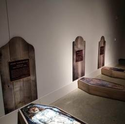 Simulation of burials at Beechey Island