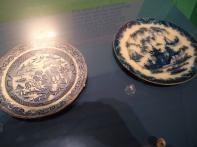 Plates recovered from HMS Erebus