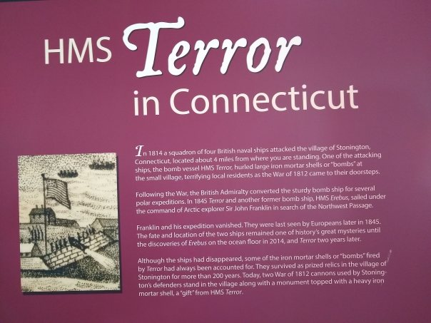Description of the HMS Terror in Connecticut