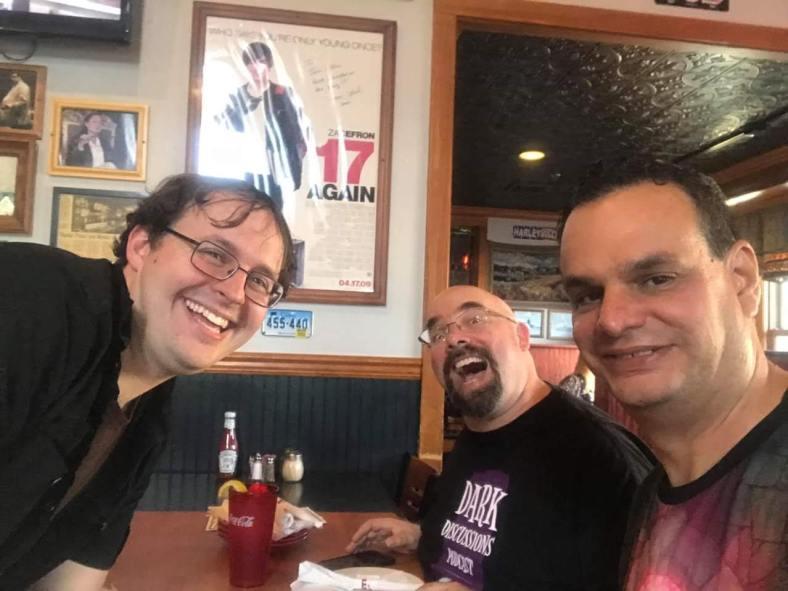 Trio at Mystic Pizza