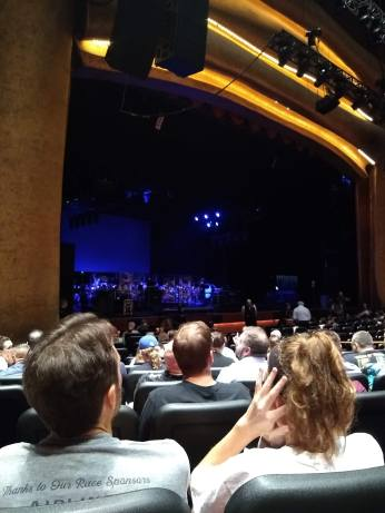 Foxwoods Grand Theatre view from Orchestra Left Row P