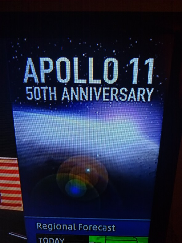 Apollo 50th anniversary news banner
