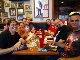 Mystic Pizza Friday night crew