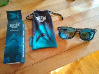 Shark Week glasses kit
