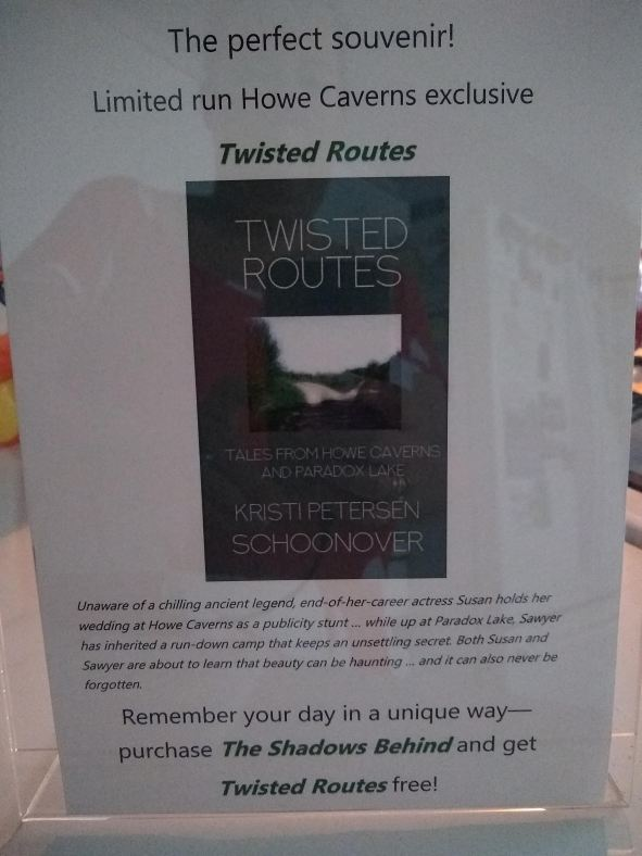 TWISTED ROUTES ad card