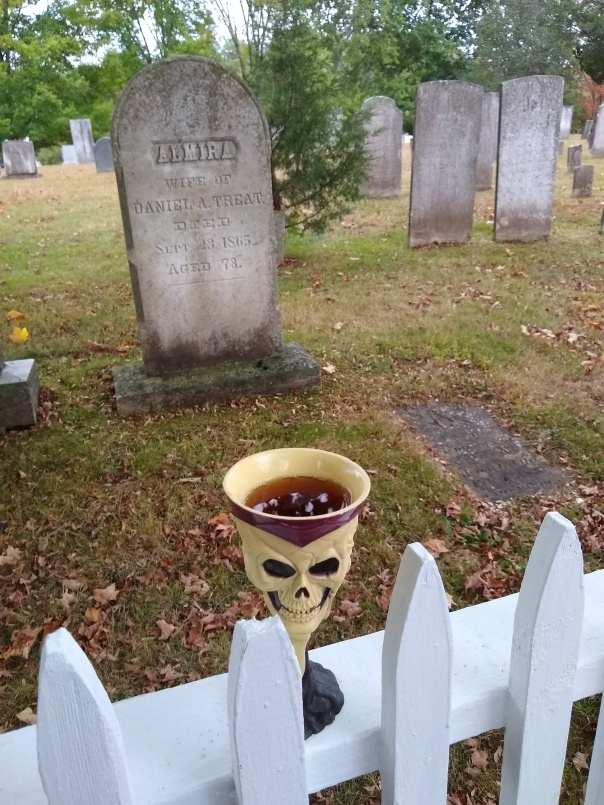 Amontillado at Cemetery 10-19