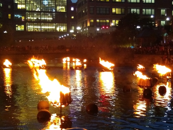 Providence's Waterfire.