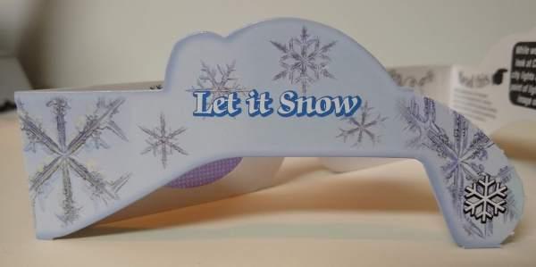 Snowflake Glasses 2