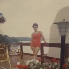 Del in Lake George August 1968