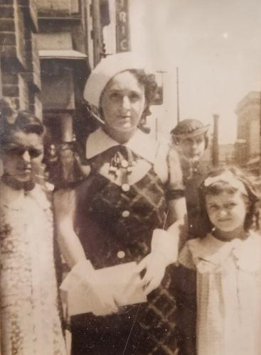 Marie, Grandma, Delores -- 1930s NYC?