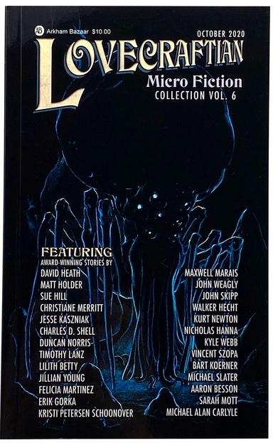 Lovecraftian MicroFiction 2020 COVER ART JPEG