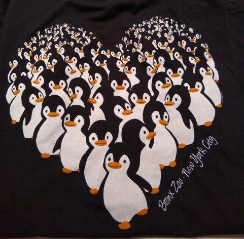 Bronx Zoo Penguin T-shirt
