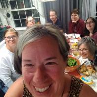 Seafood dinner group