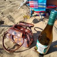 Wine on the beach