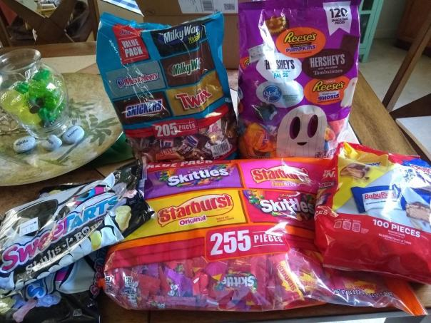 Halloween Candy large bags