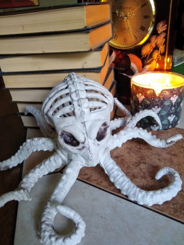 Octopus Skeleton Halloween Decoration