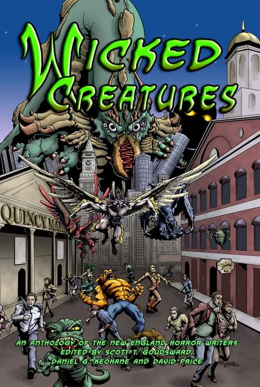 NEHW anthology Wicked Creatures Cover